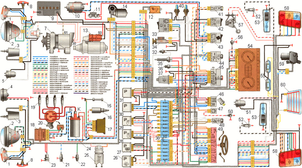 ваз - 21213 схема